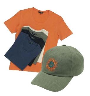 T-shirt et Casquette fabriqué en CHANVRE