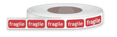 Étiquette autocollantes en rouleau