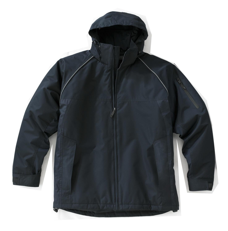 manteaux d'hiver résistant avec capuchon amovible