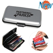 Étui protège cartes de crédit/débit RFID avec logo